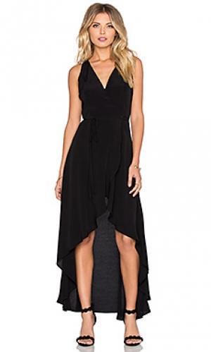 Платье essex Privacy Please. Цвет: черный