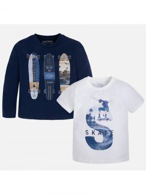 Комплект одежды Mayoral. Цвет: синий