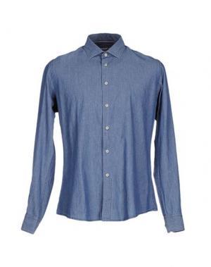 Джинсовая рубашка AT.P.CO. Цвет: синий
