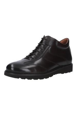 Ботинки MARIO PONTI. Цвет: коричневый