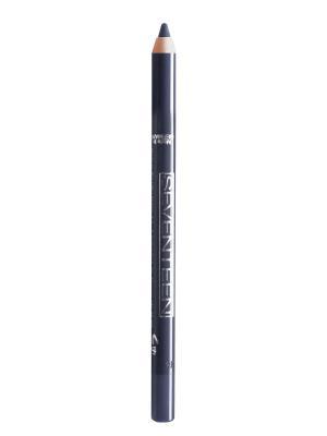 Карандаш для век водостойкий с витамином Е Super Smooth W/P&Longstay № 15 Seventeen.. Цвет: темно-синий, серый