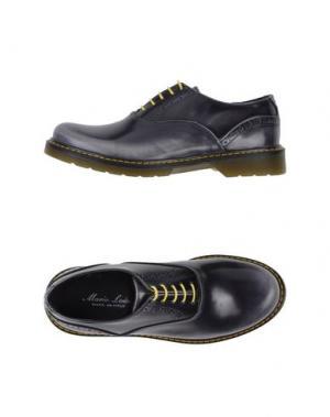 Обувь на шнурках MARIO LUISO. Цвет: серый