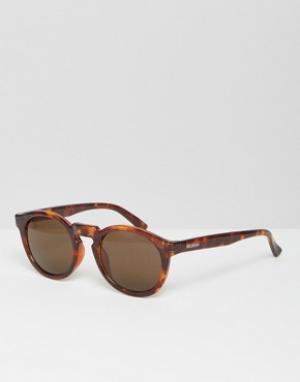 Mr Boho Солнцезащитные очки в черепаховой оправе с классическими стеклами Mr.. Цвет: коричневый