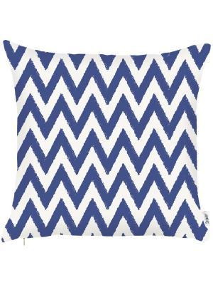 Чехол для декоративной подушки Морская стихия Apolena. Цвет: синий