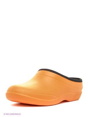 Галоши Дюна. Цвет: оранжевый