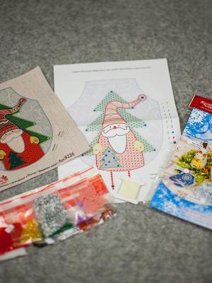 Набор для шитья и вышивания Мороз красный нос Матренин Посад. Цвет: бежевый