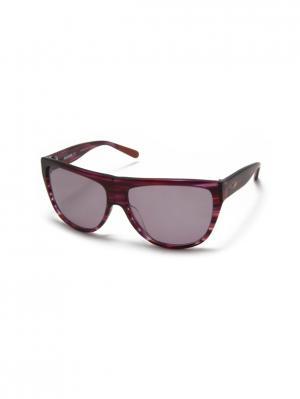 Солнцезащитные очки MI 801S 04 Missoni. Цвет: бордовый,красный