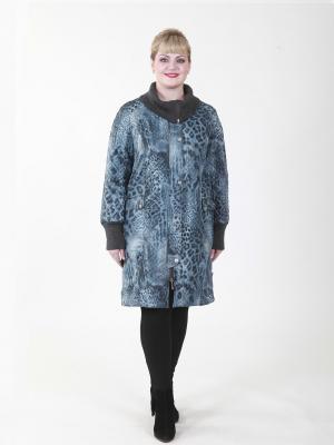 Пальто Кира VIKO. Цвет: серый, черный