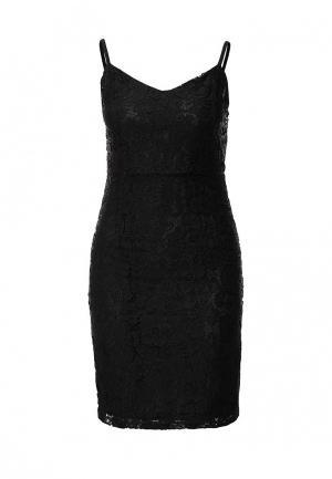 Платье Mim. Цвет: черный