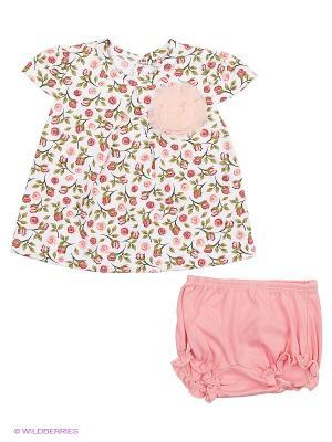 Комплект одежды Baby Boom. Цвет: коралловый