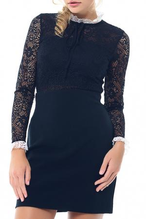 Блуза-боди Arefeva. Цвет: черно-желтый