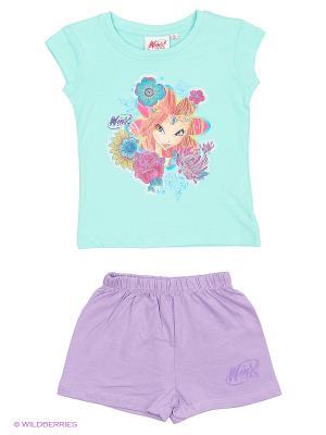 Пижама WINX. Цвет: синий