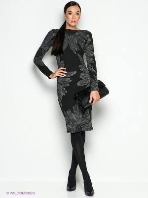 Платье Isabel de Pedro. Цвет: черный, темно-серый