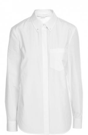 Блуза Alexander Wang. Цвет: белый
