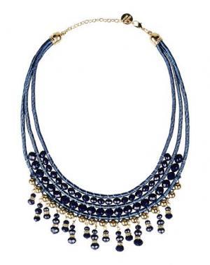 Ожерелье DETTAGLI. Цвет: синий