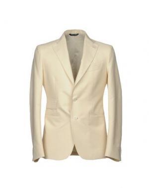Пиджак BRIAN DALES. Цвет: слоновая кость