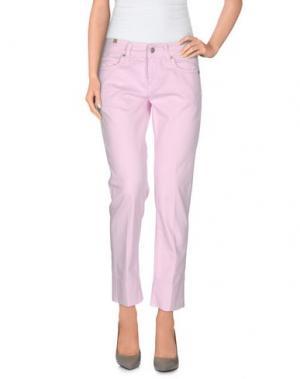 Повседневные брюки NOTIFY. Цвет: розовый