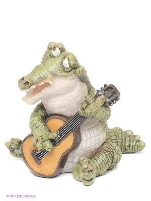 Фигурка Крокодил Sealmark. Цвет: зеленый, коричневый