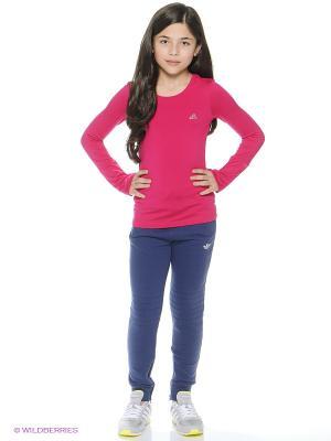 Лонгслив YG CLMWM LS Adidas. Цвет: розовый