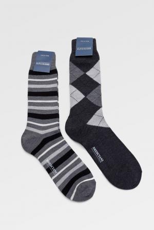 Носки (2 пары) 142863 Bresciani. Цвет: разноцветный