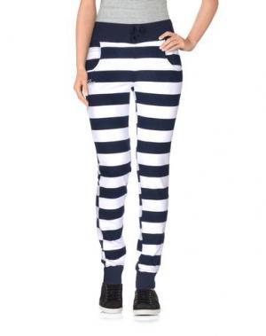 Повседневные брюки SHOESHINE. Цвет: темно-синий