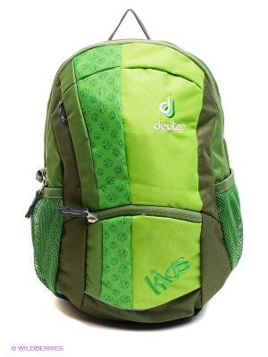 Рюкзак Deuter. Цвет: зеленый, салатовый