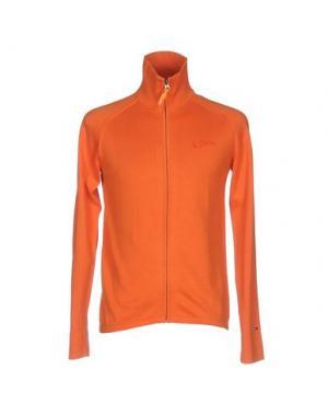 Кардиган TOMMY HILFIGER DENIM. Цвет: оранжевый