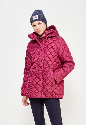 Куртка утепленная Alpex. Цвет: розовый