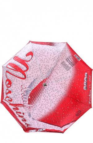 Зонт Moschino. Цвет: красный