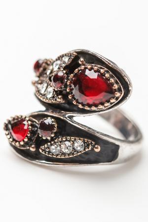 Кольцо Oceania. Цвет: красный