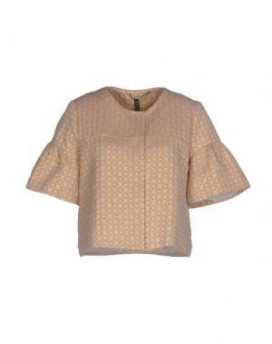 Пиджак MANILA GRACE. Цвет: светло-коричневый