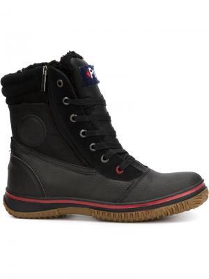 Ботинки на шнуровке Trooper Pajar. Цвет: чёрный