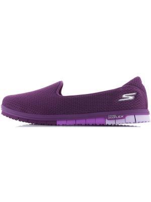 Слиперы SKECHERS. Цвет: фиолетовый
