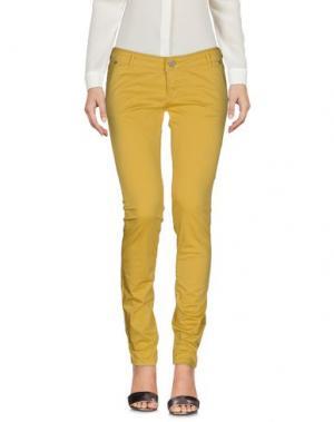 Повседневные брюки FRACOMINA. Цвет: охра
