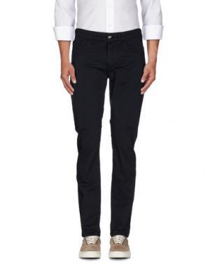 Повседневные брюки BIKKEMBERGS. Цвет: темно-синий
