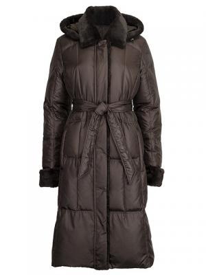 Пальто HAGENSON. Цвет: коричневый