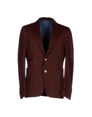 Пиджак JOHN SHEEP. Цвет: ржаво-коричневый