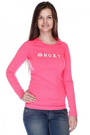Термобелье (верх) женское  Crew Seamless Diva Pink Roxy. Цвет: розовый