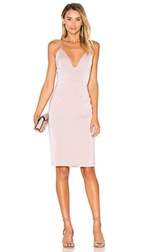 Платье heatwave NBD. Цвет: розовый