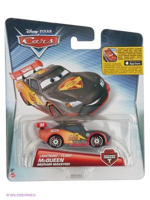 Машинка Carbon Racers из серии Тачки Mattel. Цвет: малиновый, прозрачный