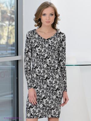 Платье Hammond. Цвет: черный, белый