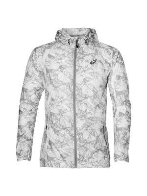 Куртка fuzeX PACKABLE JKT ASICS. Цвет: белый, бежевый