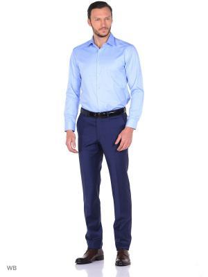 Рубашка Nicolo Angi. Цвет: голубой