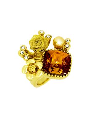 Кольцо Incognito.. Цвет: светло-оранжевый