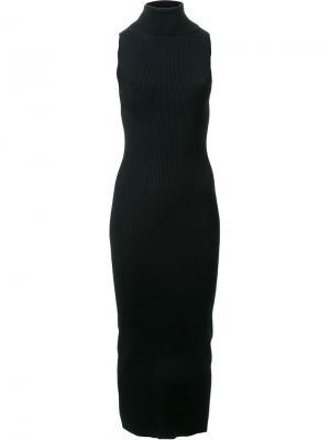 Облегающее платье без рукавов Dion Lee. Цвет: чёрный