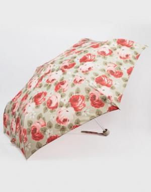 Cath Kidston Песочный зонт с принтом роз Minilite Aubrey. Цвет: мульти
