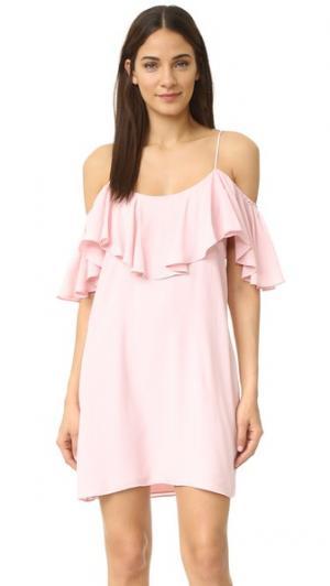 Платье Emil MISA. Цвет: розовый