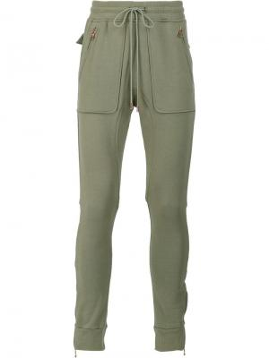 Спортивные брюки Doha Oyster Holdings. Цвет: зелёный