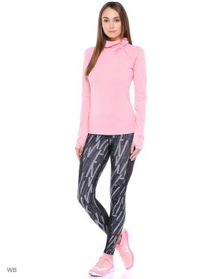 Леггинсы W NP HPRCL TGHT SKEW Nike. Цвет: черный, розовый