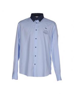 Pубашка HARMONT&BLAINE. Цвет: небесно-голубой